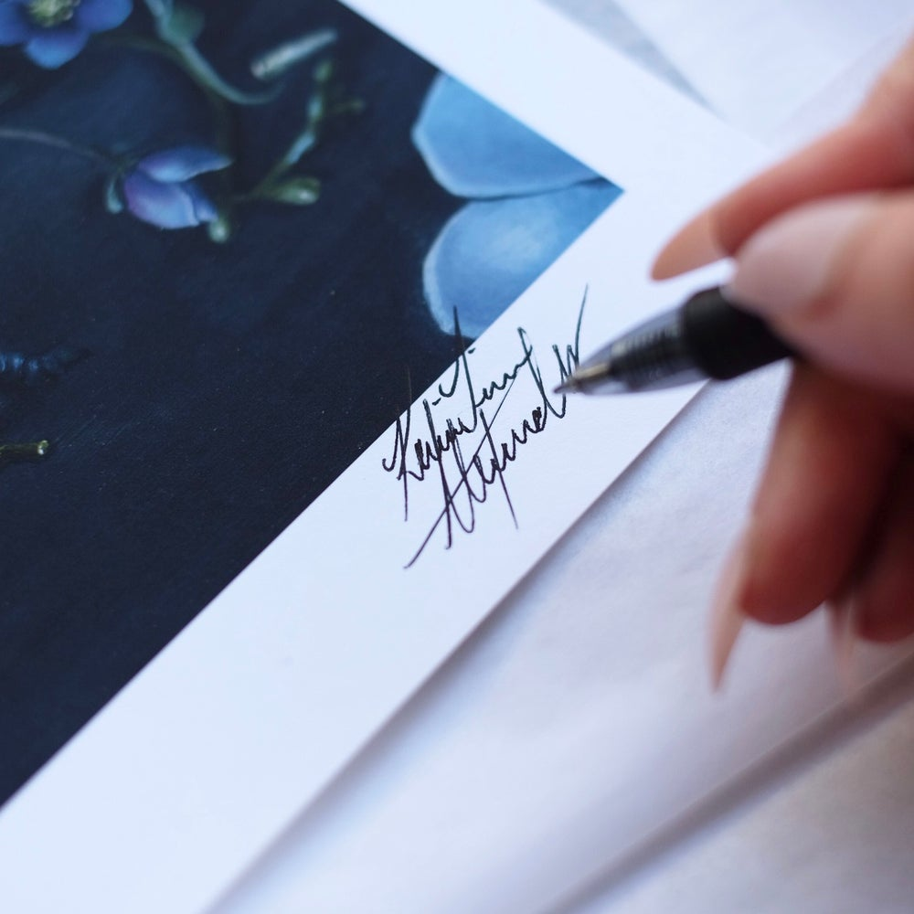 "Image of ""The Artist"" Limited Print"