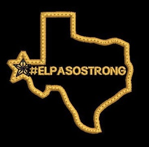 Image of BV3W El Paso Strong patch (round 2)