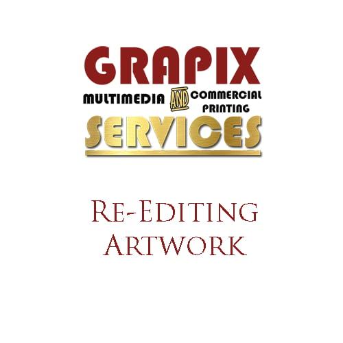 Image of Re-Editing Artwork