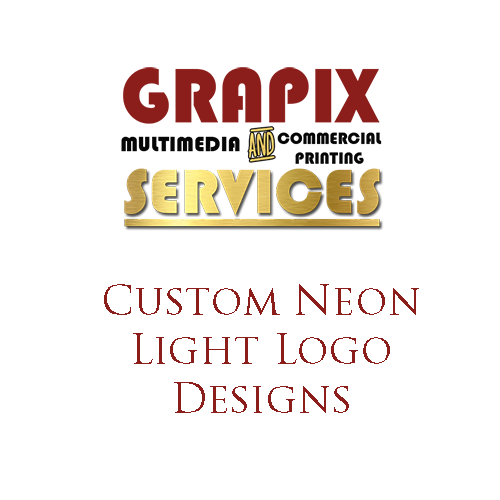 Image of Custom Neon Light Logo Designs
