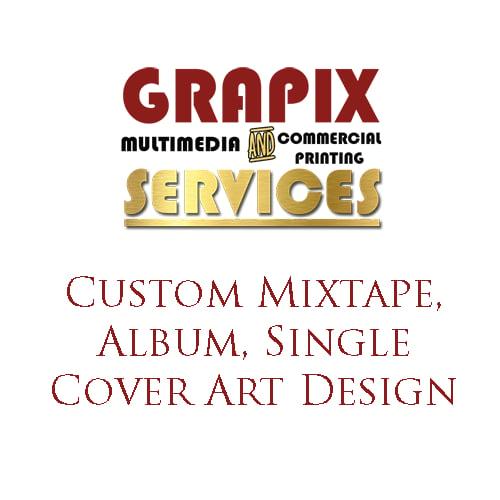 Image of Custom Mixtape, Album, Single Cover Art Design