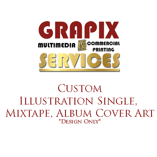 Image of Custom Illustration Single, Mixtape, Album Cover Art