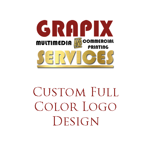 Image of Custom Full Color Logo Design