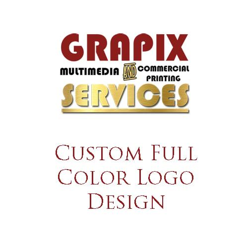 Image of Custom Full Color Logo Design
