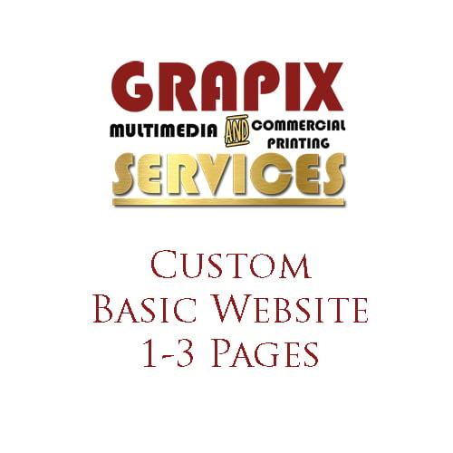 Image of Custom Basic Website