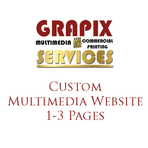 Image of Custom Multimedia Website