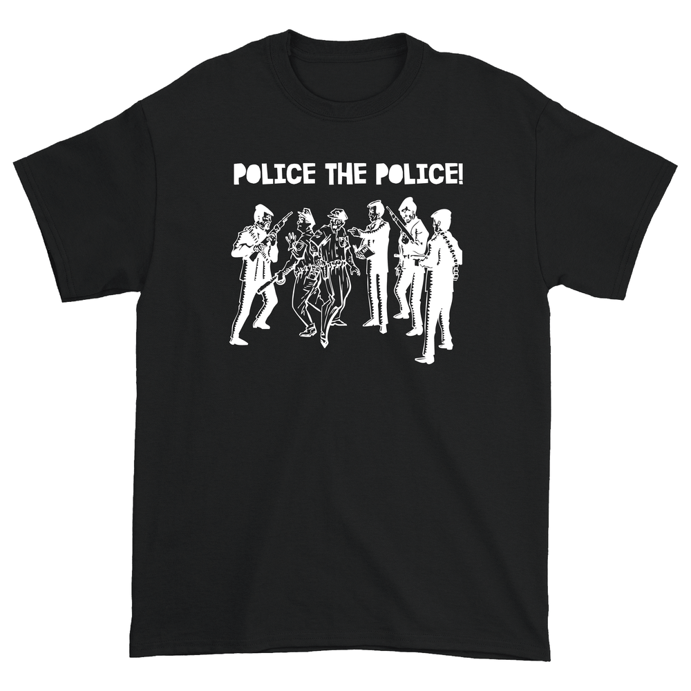 Image of Police the Police T Shirt (Black)
