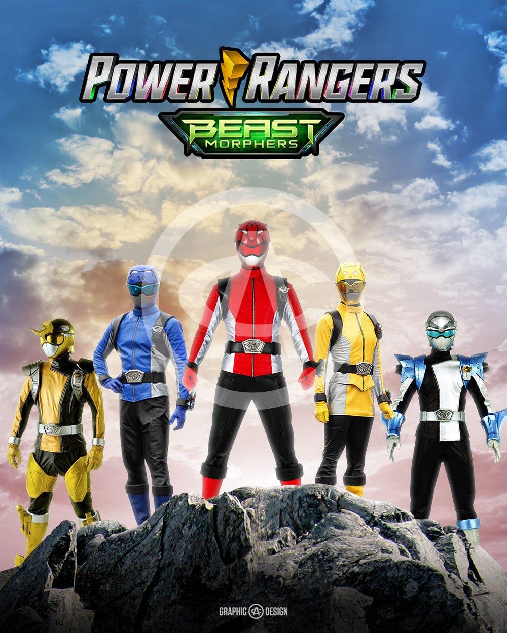 Legendary Power Rangers Beast Morphers   AC GRAPHIC DESIGN