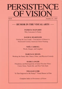 Image of Persistence of Vision No. 14: Humor in the Visual Arts (1997)