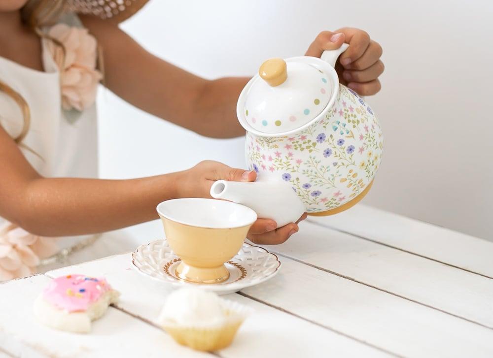 Image of Summer Meadow Tea Set