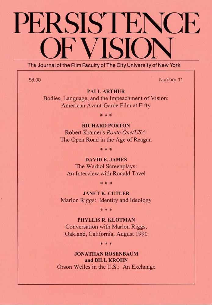 Image of Persistence of Vision No. 11 (1995)