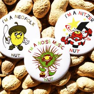 Image of NICHE NUT badges