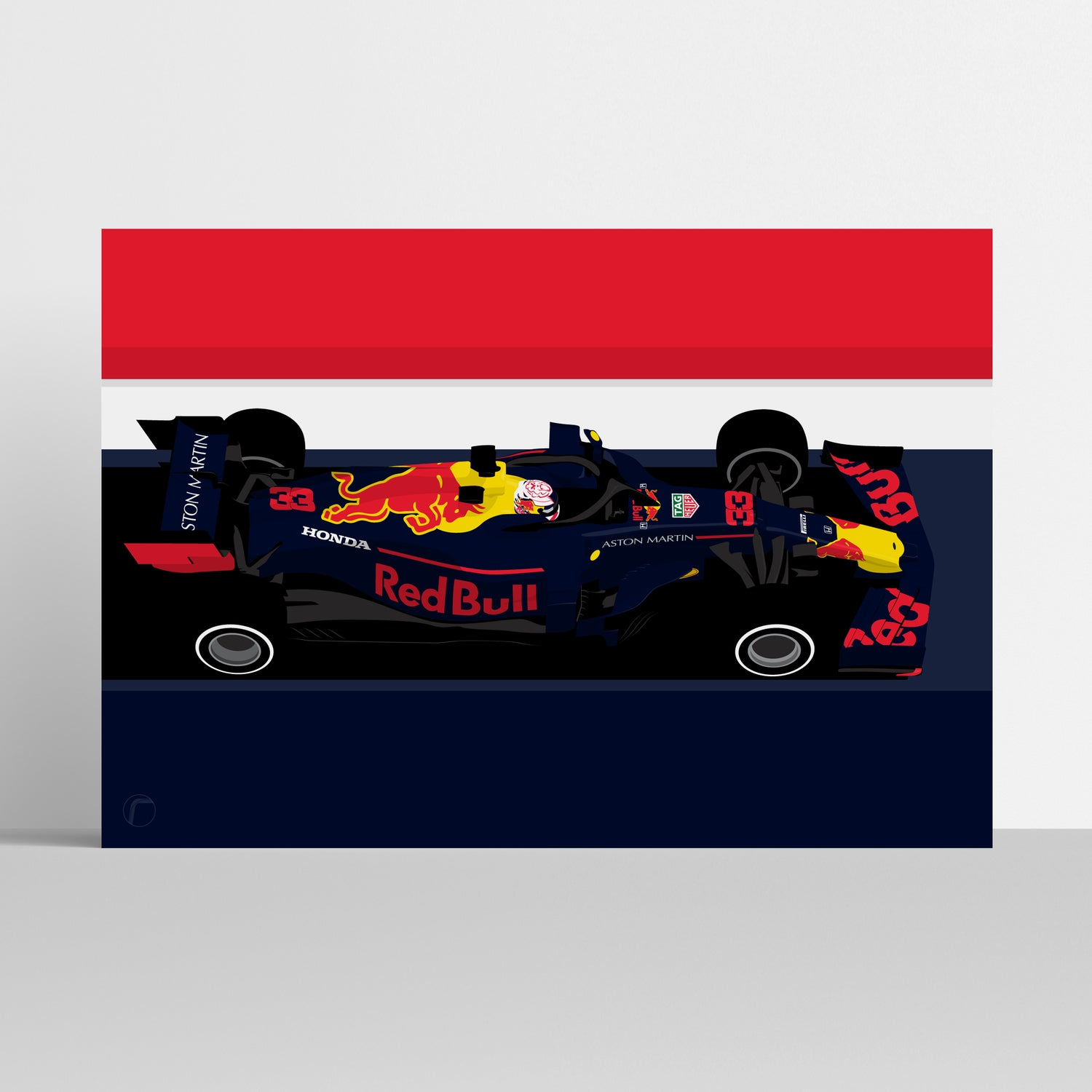 Image of Red Bull Racing RB15   Max Verstappen