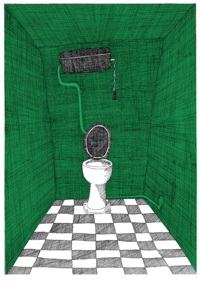 Image of the Colony Room toilet