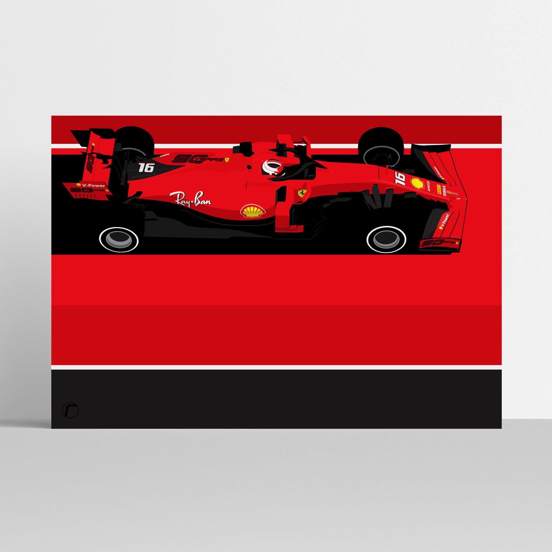 Image of Ferrari   Charles LeClerc 2019