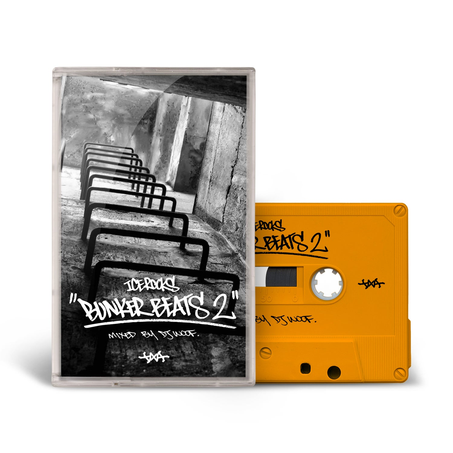 Image of IceRocks - Bunker Beats 2 || Cassette Pre Order (Ships End Of August)