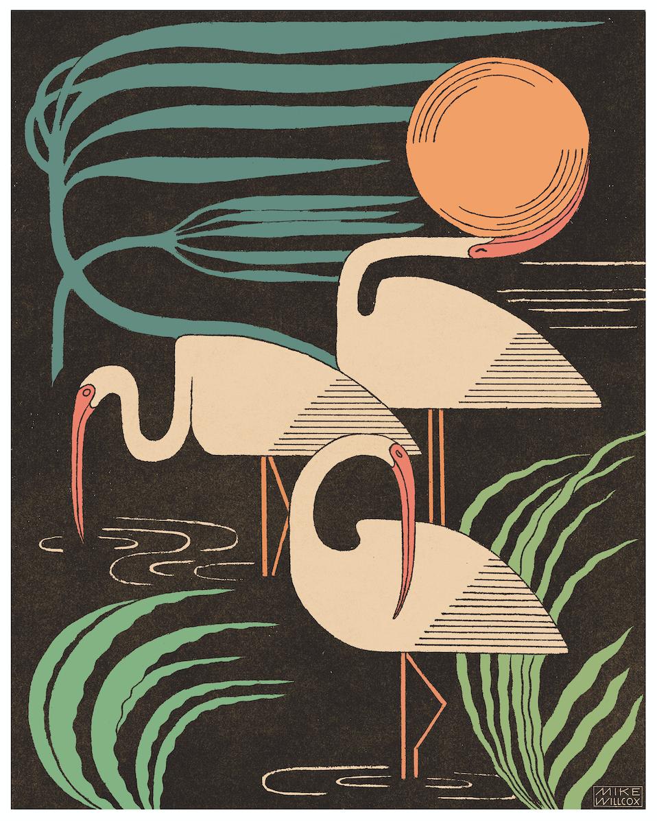 Image of Ibis & Hurricane Print
