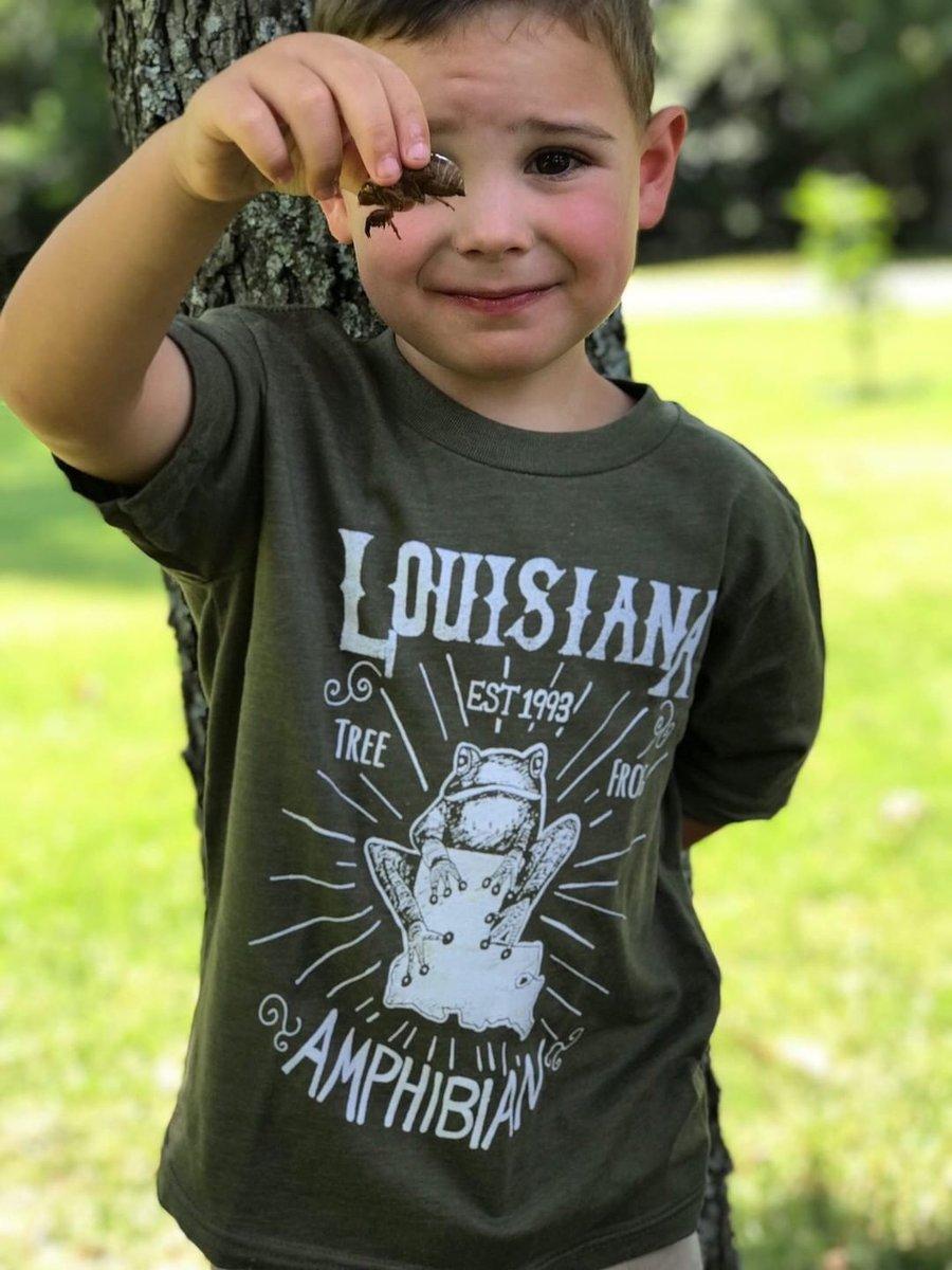 Image of Youth Mystery Tee aka La State Amphibian Tee