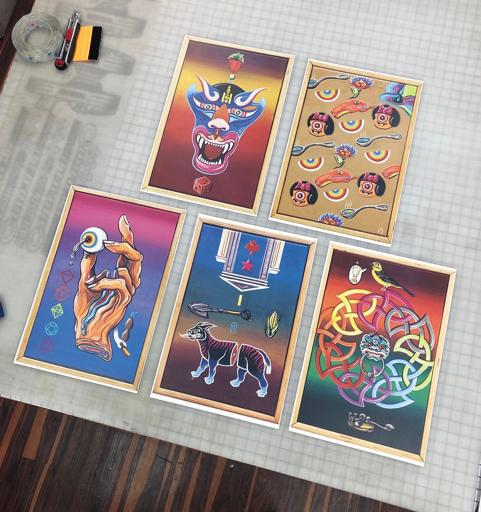"Image of PRINTS from ""The Mystery Riddles Show"" (5 pack) Limited Edition"