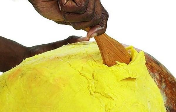 Creamy African Shea Butter: Yellow 25 oz