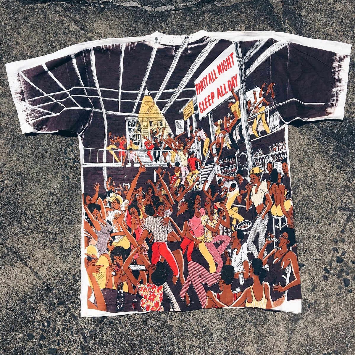 Image of Original 90's Party All Night Tee.
