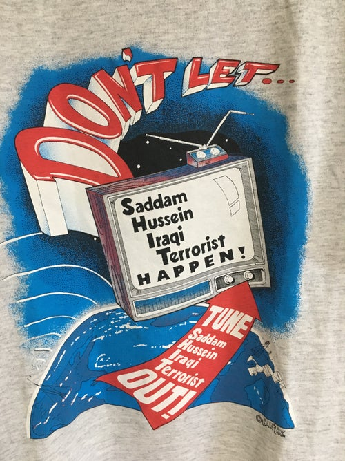 Image of 90's Don't Let SHIT Happen Terrorist Tee