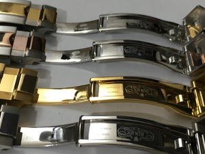 Image of ROLEX DAYTONA GENTS WATCH STRAPS,4 X COLORS,TOP QUALITY,20MM