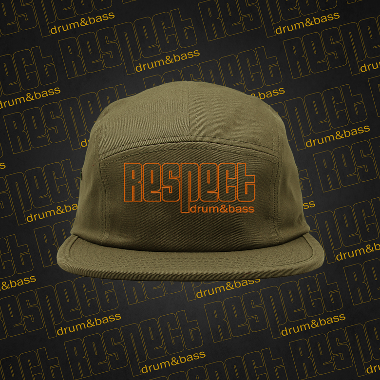 Image of RESPECT Five-Panel Hat
