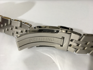 Image of BREITLING STAINLESS STEEL GENTS WATCH STRAP,STRAIGHT LUGS,18MM-20mm-22mm-