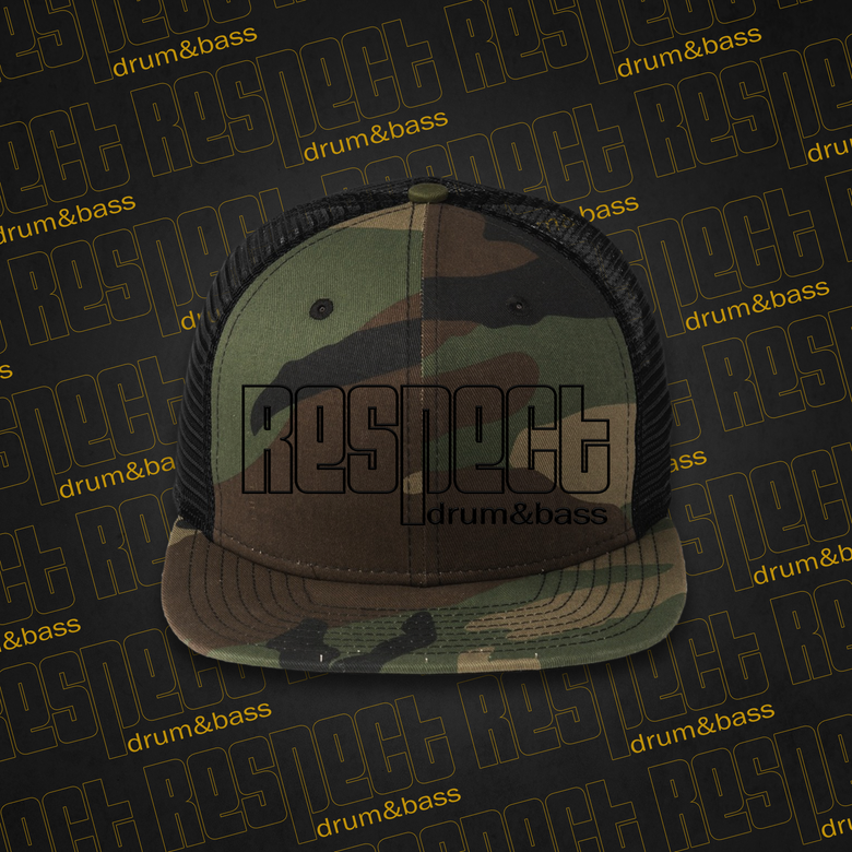 Image of RESPECT Nu Era - Camoflage Snapback / Trucker Hat