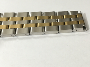 Image of BREITLING 2/TONE S/STEEL GENTS WATCH STRAPS,STRAIGHT LUGS,18MM-20MM-22MM-24MM-