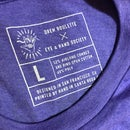 """Image of """"The Mystery Riddles Show"""" Purple T-Shirt (very limited) MEDIUM"""