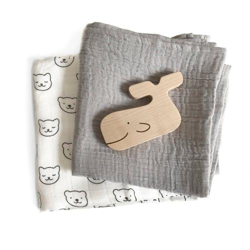 Image of Lange en coton gris