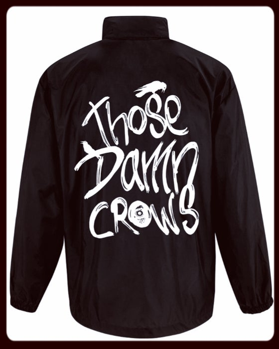 Image of Those Damn Crows Windbreaker Jacket
