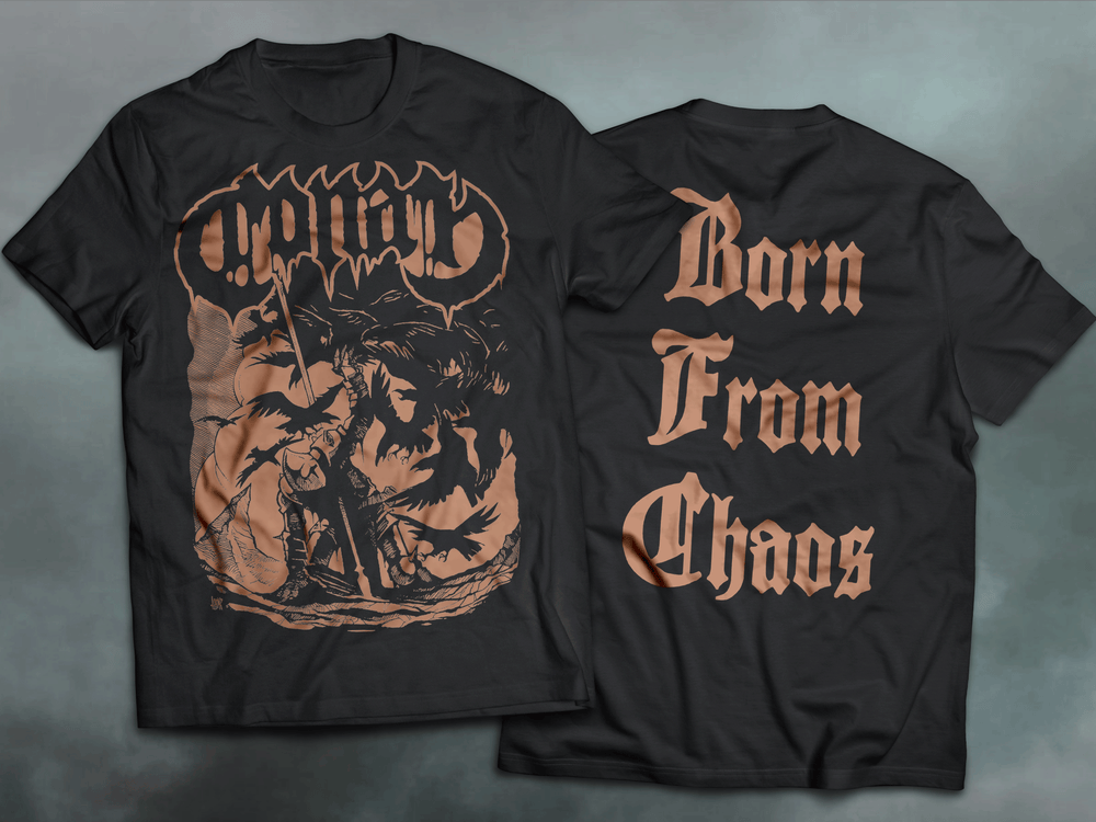 Image of BORN FROM CHAOS - T SHIRT