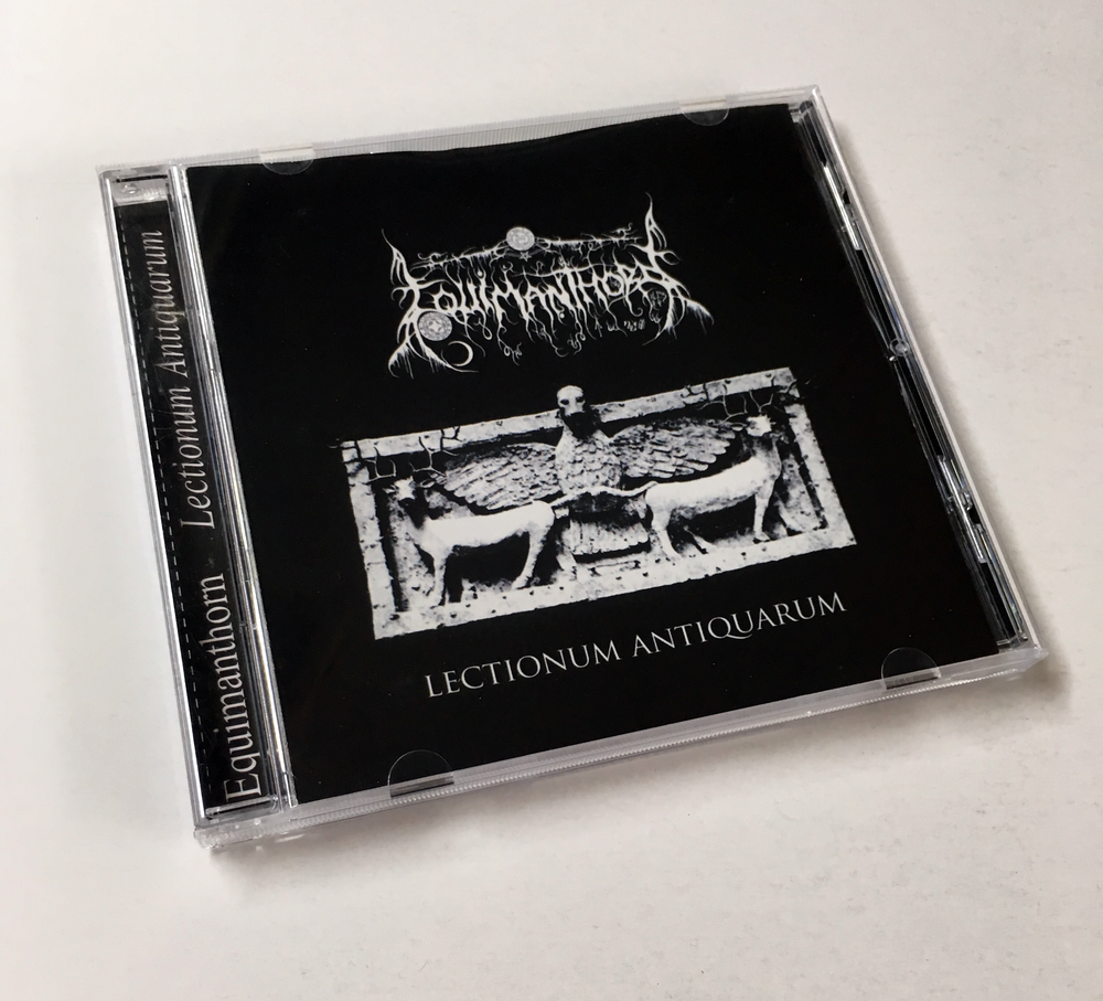 Image of EQUIMANTHORN - LECTIONUM ANTIQUARUM CD