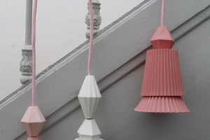Image of lamp 'double pink'