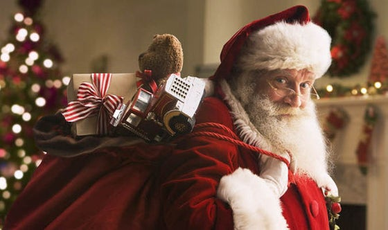 Image of Santa Claus is coming to town!