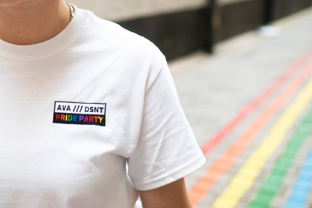 Image of AVA x DSNT - Pride T-Shirt [Limited Edition]