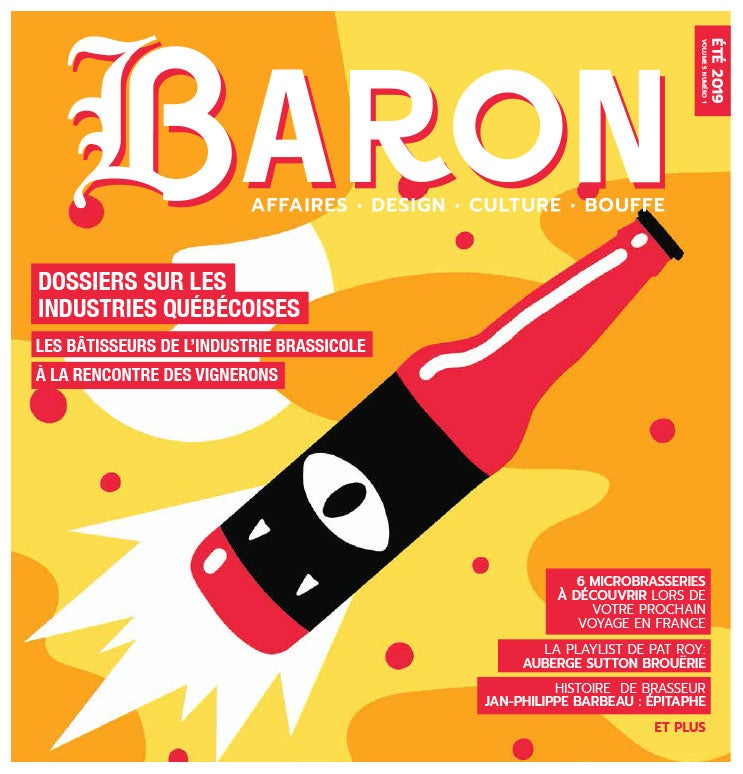 Image of ** FORMAT PDF ** Journal Baron - v5 n1 - été 2019