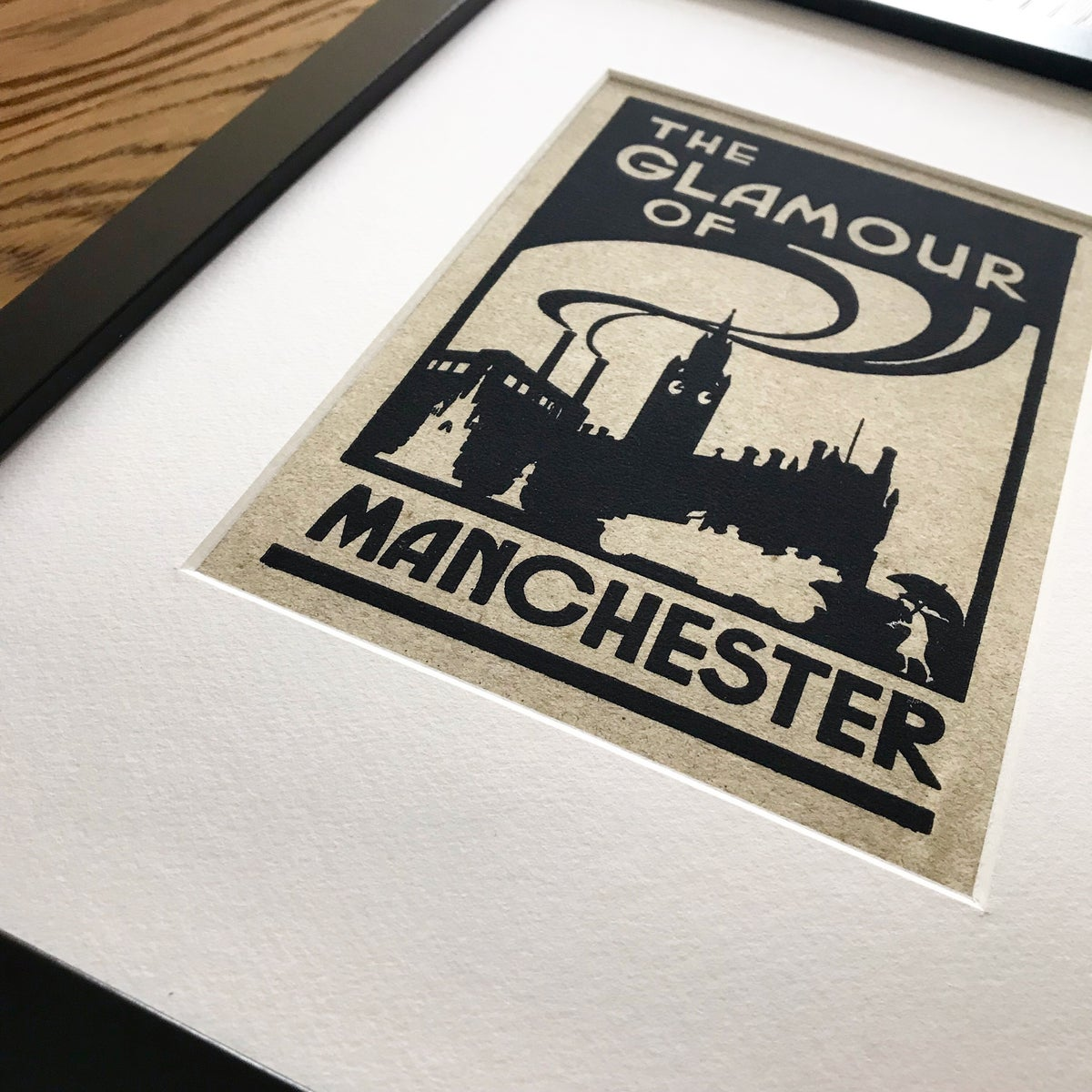 Image of Glamour of Manchester Framed Print