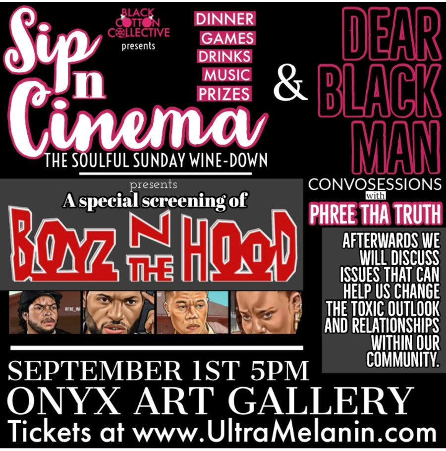 Image of Tickets at the door!!! Soulful Cinema / Dear Black Man  Convosession