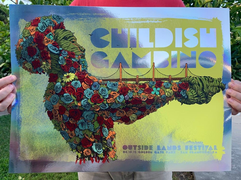 Image of Childish Gambino - Outside Lands Festival (Foil Edition)