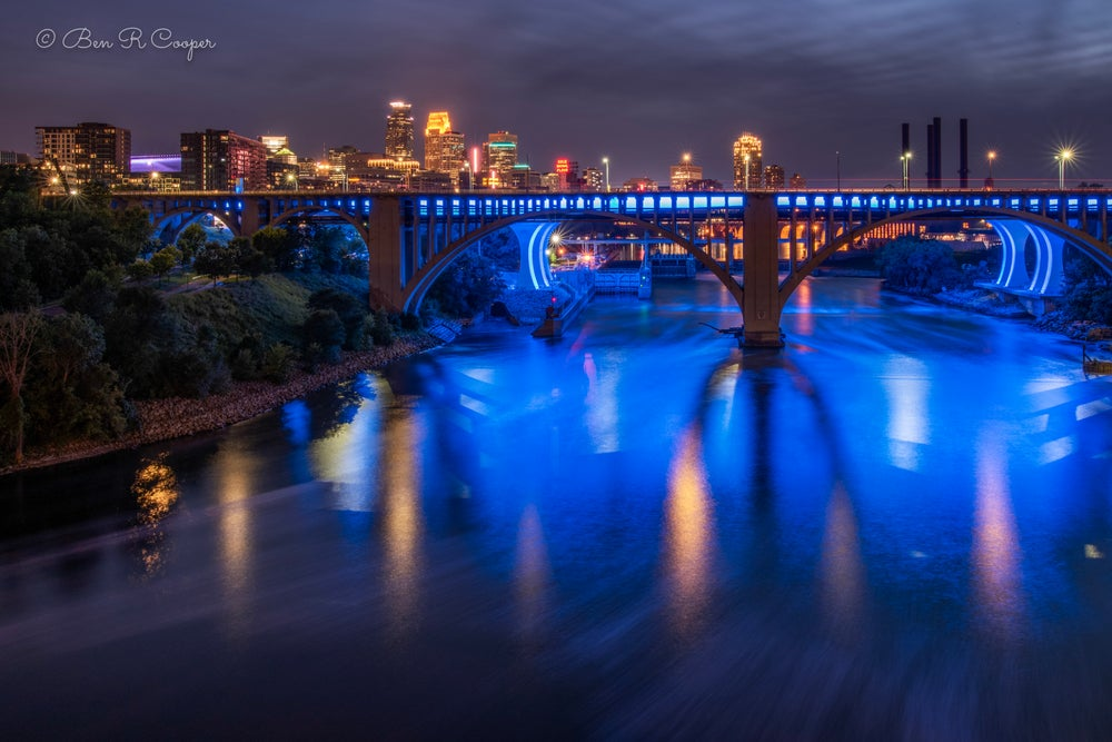 Image of Minneapolis at Night