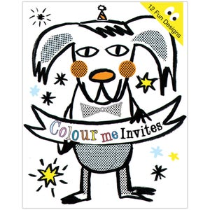 Image of Colour Me, Party Invites