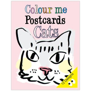 Image of Colouring Postcard Booklet CATS