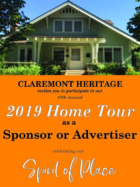 Image of 2019 HOME TOUR SPONSORSHIP/ADVERTISING OPPORTUNITIES