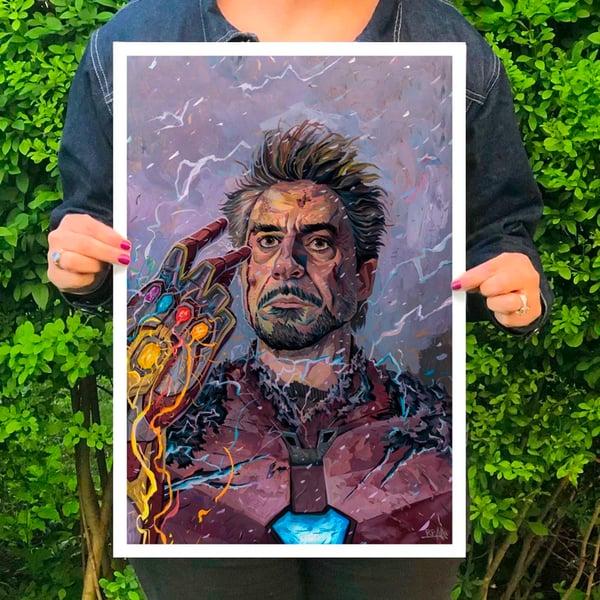 Image of I am Iron Man - Print