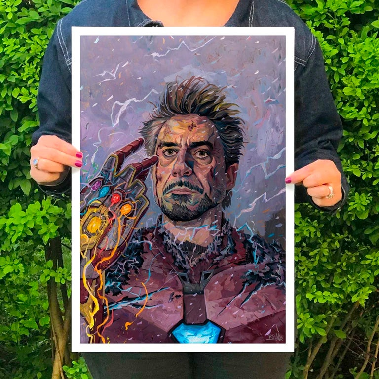 Image of I am Iron Man - Print