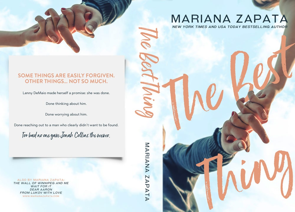 "Image of *PRE-ORDER* Signed Paperback ""The Best Thing"""